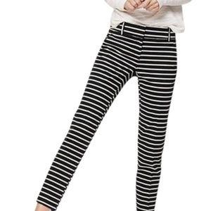 Ann Taylor LOFT Striped Riviera Pants Marisa Fit